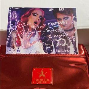 Jeffree Star Cosmetics Red Reflective Bag